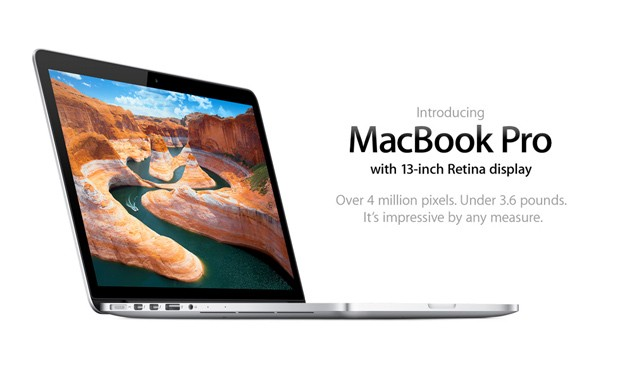 Apple announces 13inch MacBook Pro with Retina display 2,560 x 1,600 resolution, Thunderbolt and HDMI starting at $1,699