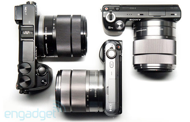Sony Alpha firmware updates bring record button disabling on NEX7, DSLR lens compensation improvements