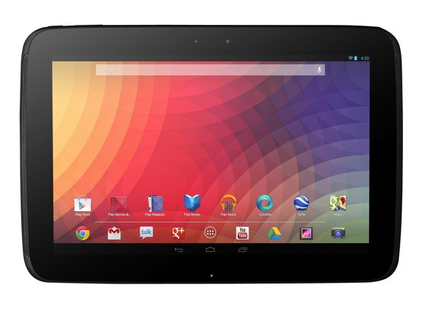 Google announces Nexus 10 tablet with 2,560 x 1,500, 300 ppi display and Android 42, shipping November 13th for $399
