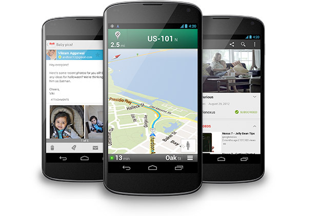 Nexus 4 official Android 42, Snapdragon S4 Pro, 47inch 1280 x 768 display