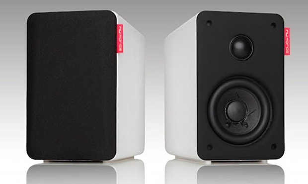 NuForce launches Bluetooth 40 bookshelf speakers, promises to please audiophiles