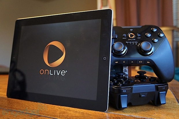 OnLive was reportedly sold for roughly $  5 million to venture capital firm