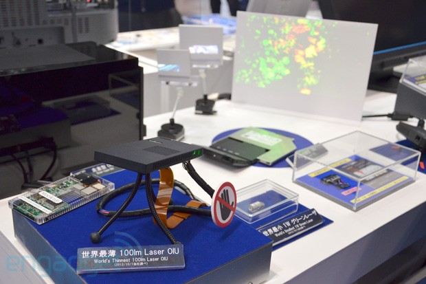 Panasonic's 75mmthick laser projector module claims world's thinnest title
