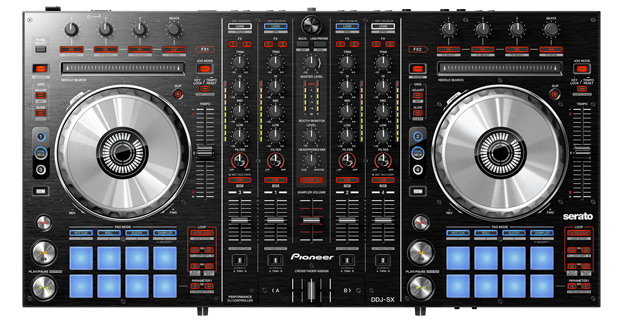Pioneer cues up DDJSX Serato controller, adds performance pads to the mix