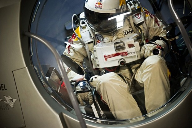 Leap of faith Felix Baumgartner's historic jump from the edge of space