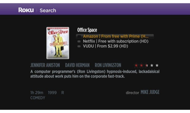 Roku update adds crossprovider search across Netflix, Amazon, Hulu, HBO, Vudu and Crackle