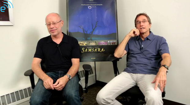 'Samsara' creators Ron Fricke and Mark Magidson discuss the digital filmmaking divide video