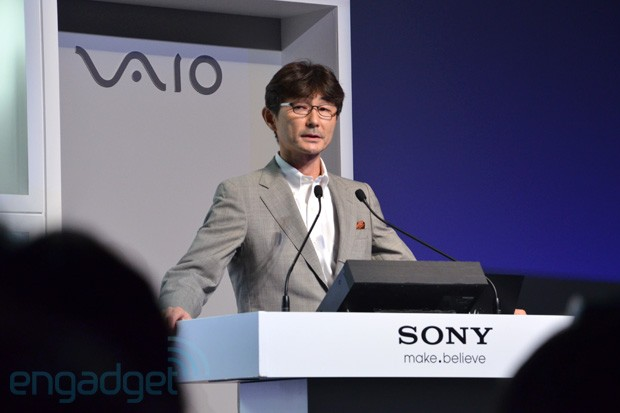 Sony We are still considering Windows RT, but optimum timing is also key