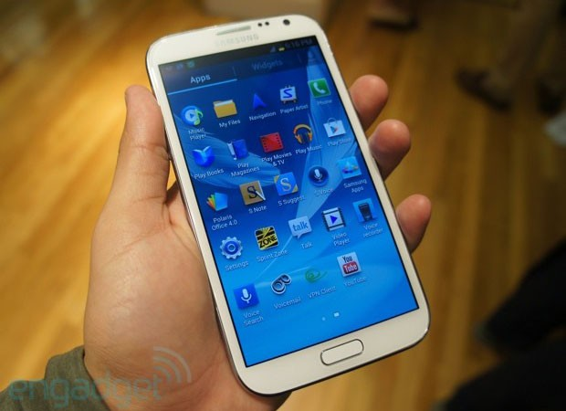 Samsung Galaxy Note II now available from Sprint for $  300 on a twoyear contract