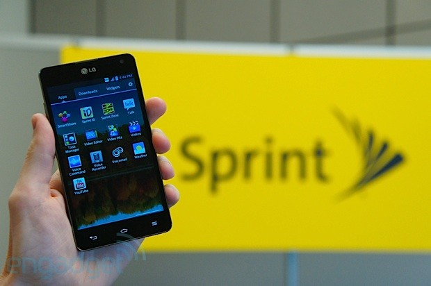 LG Optimus G for Sprint handson