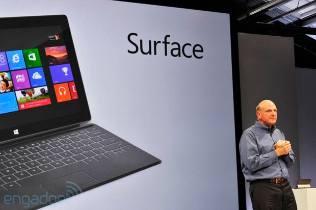 Steve Ballmer at Microsoft Surface event