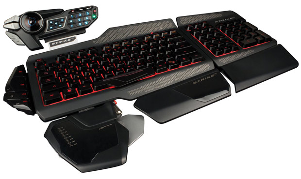 Mad Catz announces the STRIKE 5 keyboard for pro gamers, preorder now for $  200