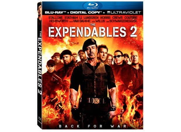 The Expendables 2 Bluray comes home next month, will be the first with 111 DTS NeoX audio