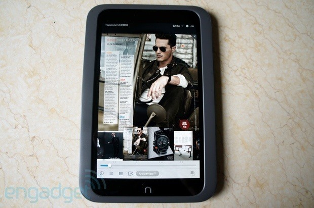 Nook HD review a highdef tablet with the heart of a reader