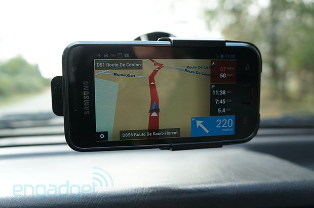 DNP TomTom Navigator hits some Android devices, we go hands on