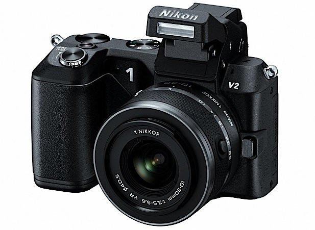 Nikon 1 V2 unveiled 142 megapixel ILC shoots 1080p video for $89995 in November
