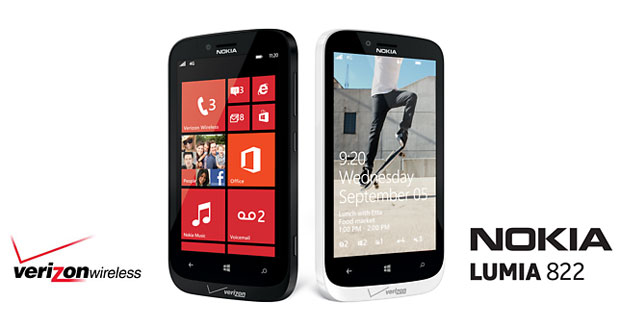 Verizon officially announces Nokia Lumia 822, coming this Fall