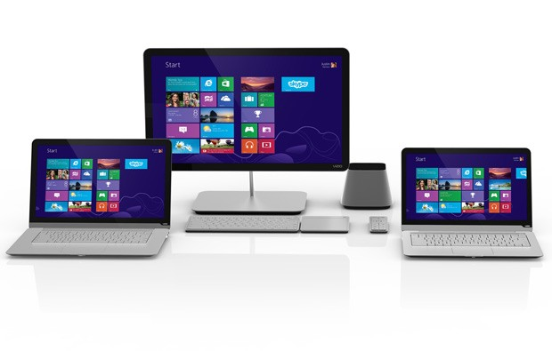 Vizio preps for Windows 8 allinone PCs get touchscreens, notebooks get 'enhanced' touchpads
