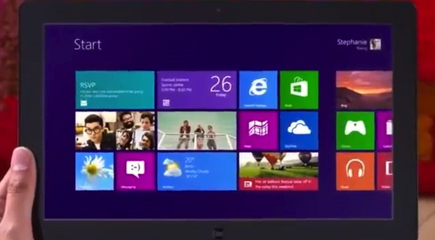 Microsofts Windows 8 commercials sneak online video