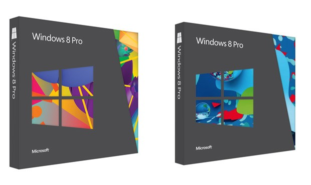 Windows 8 Pro boxes