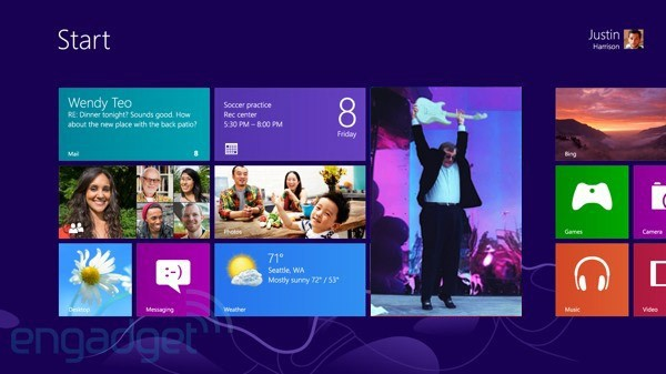 Paul Allen takes a look at Windows 8, finds his alma mater doing mostly well
