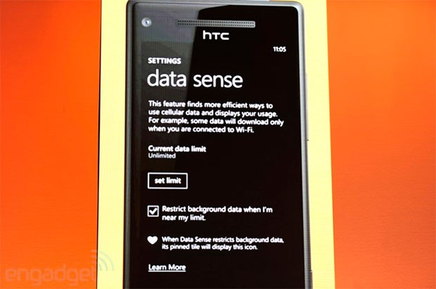 Microsoft unveils Data Sense for Windows Phone 8, to debut on Verizon devices