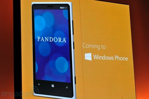 Windows Phone 8 gets Pandora Radio, Cut the Rope, Urbanspoon and more