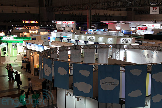 DNP CEATEC 2012 wrapup concept cars, eyetracking tech and motion sensors galore