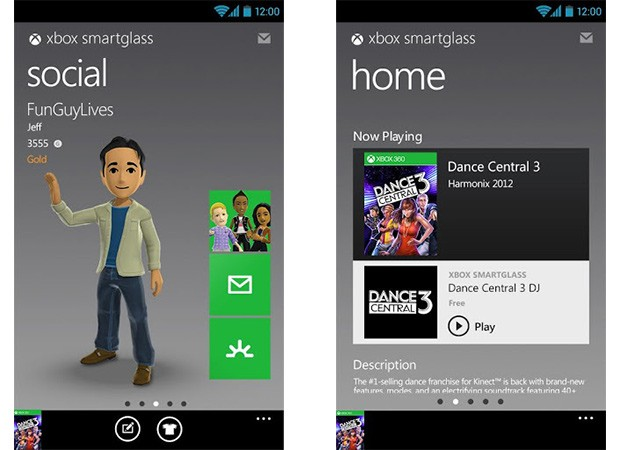 Xbox SmartGlass now available in Google Play, brings console integration to Android