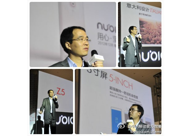 ZTE unveils highend Nubia mobile line, launches Z5 quadcore, 13megapixel, Italian design