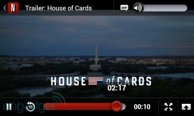 Netflix Android app updated with tweaks to the player UI, 42 compatibility