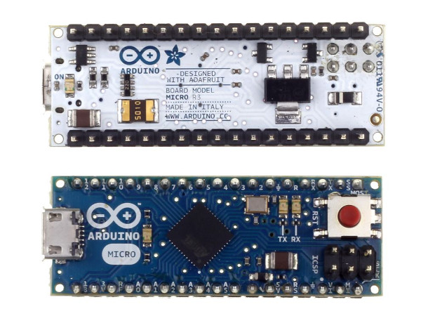Arduino Micro shrinks your favorite DIY platform down to ridiculous proportions