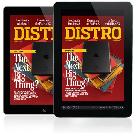 Distro Issue 64 Is Apple's iPad mini the next big thing?