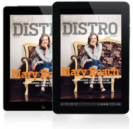 Distro Issue 67 weird science and strange medicine with bestselling author Mary Roach