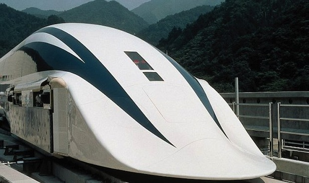 DNP Japan unveils prototype of its first maglev train, promises 311 mph speeds