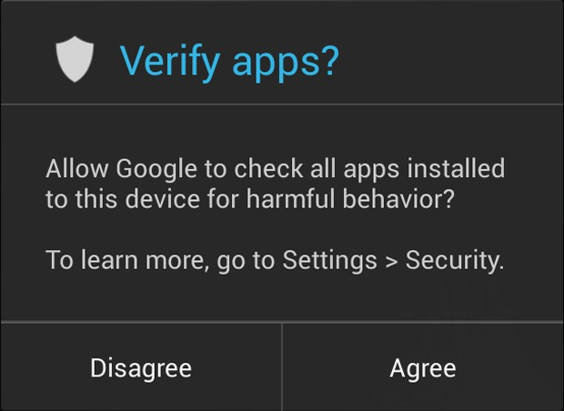 Android's new malware scanner