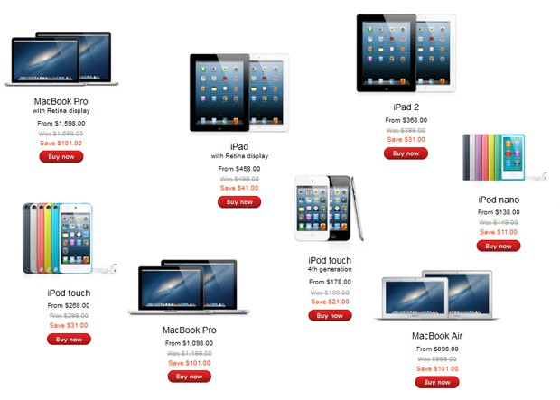 Apple Announces Black Friday Deals 101 Off Laptops Up To 61 Off The New Ipad Engadget