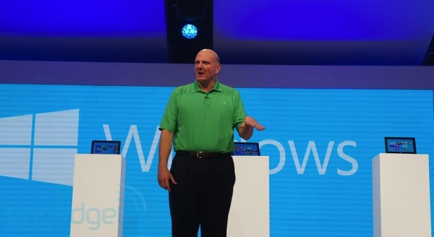 Ballmer Windows Phone 8 'still small', expects it will 'really ramp quickly'