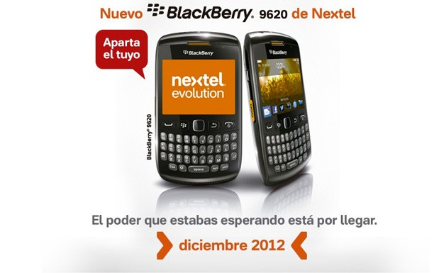 BlackBerry Patagonia 9620 specs leak, says hola Nextel in December