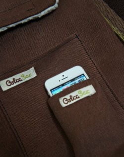 IRL ColcaSac's Hanakapiai sleeves, the iPhone 5 and the Galaxy S III on MetroPCS