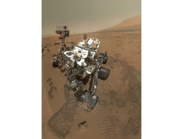 DNP Visualized Curiosity rover selfportrait