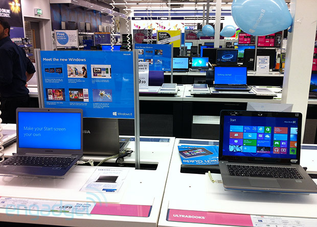 Windows 8 sells 40 million licenses in a month meanwhile, mum's the word on Surface sales