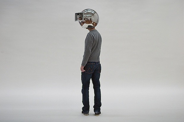 Lorenz Potthast's Decelerator helmet gives you slow motion vision, style to spare