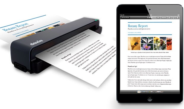 DNP Doxie One portable scanner rolls in for $149, plays nice with Mac, PC or iOS