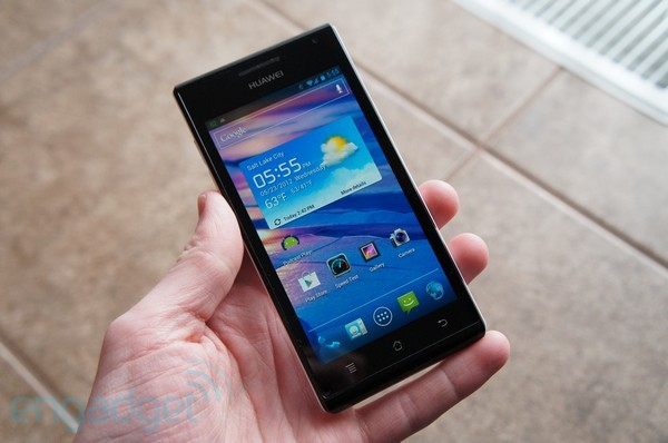 How would you change the Huawei Ascend P1
