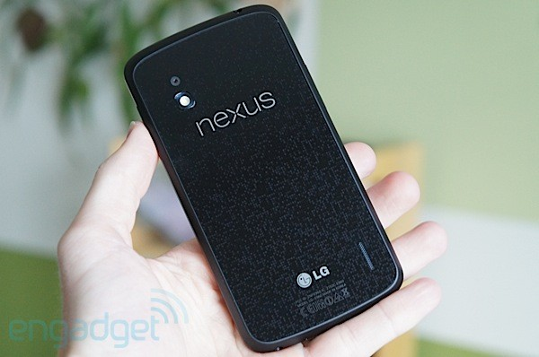 Google Nexus 4 back