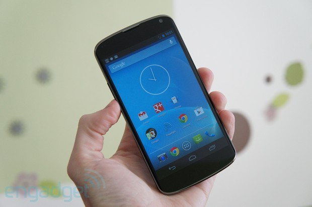 Nexus 4 review lead