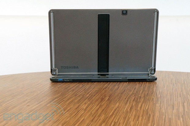DNP Toshiba Satellite U925t review with its first Win 8 convertible, Toshiba bets big on the slider