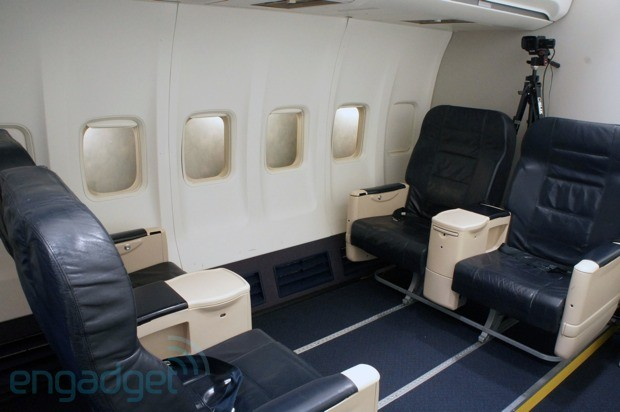 Engadget tours Gogo's flying test plane, tries its improved ATG4 inflight WiFi handson