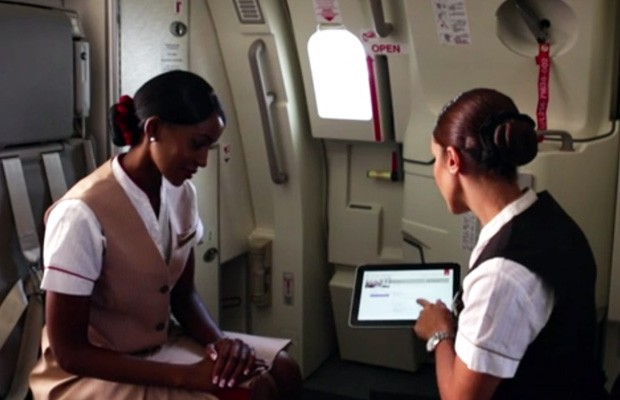 Emirates hands out HP Windows 8 tablets to flight crews